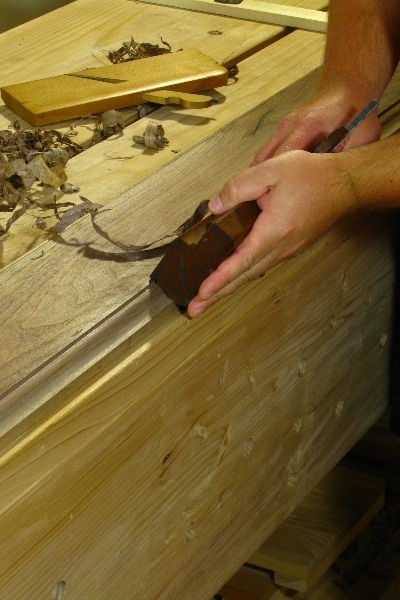 Hand Planing Moldings