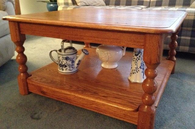 Red Oak Coffee Table