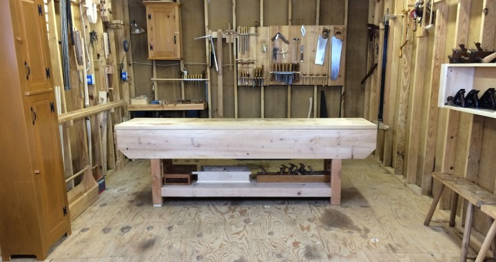 Temporary Workshop - Bob Rozaieski Fine Woodworking