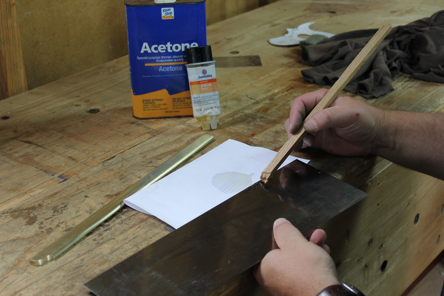 Attaching a Back to a Saw Blade