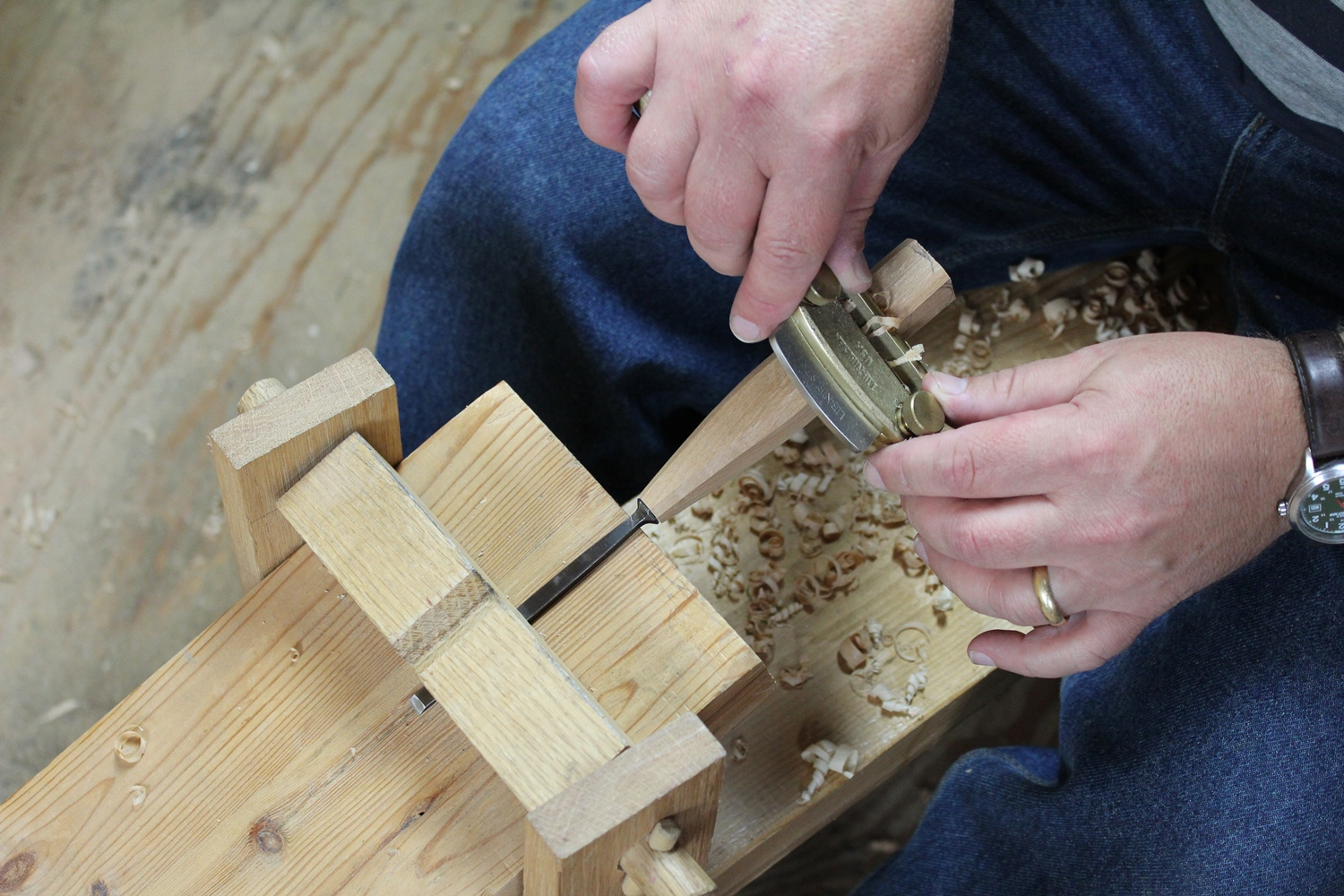 How to Re-handle a Chisel