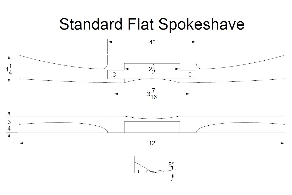 Wooden Spokeshave Plans