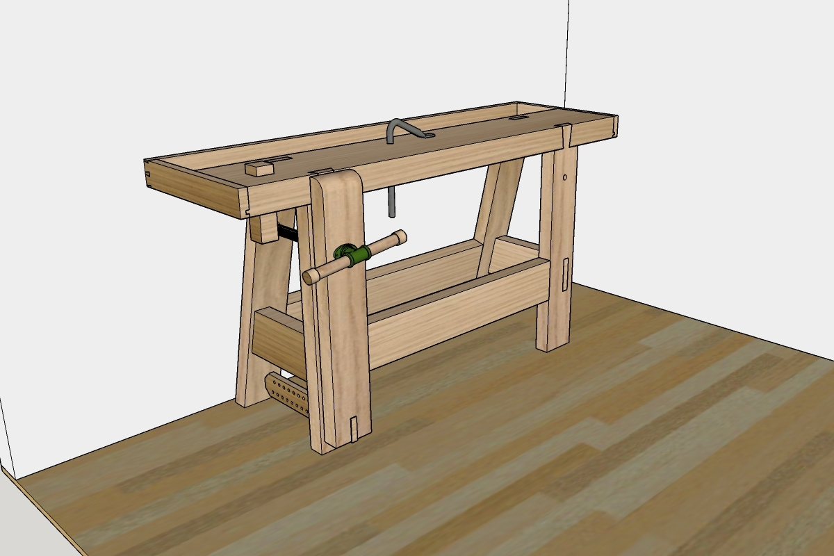 Small Shop Workbench