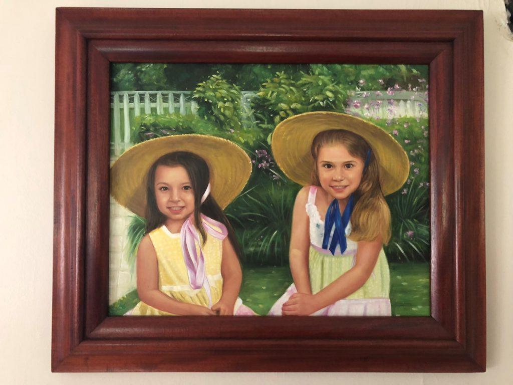 Mahogany Painting Frame