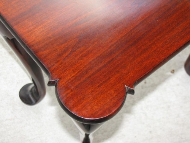 Queen Anne Chippendale Porringer Tea Table