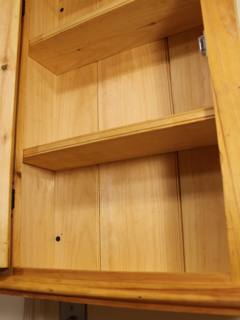 Pine Wall Cupboard