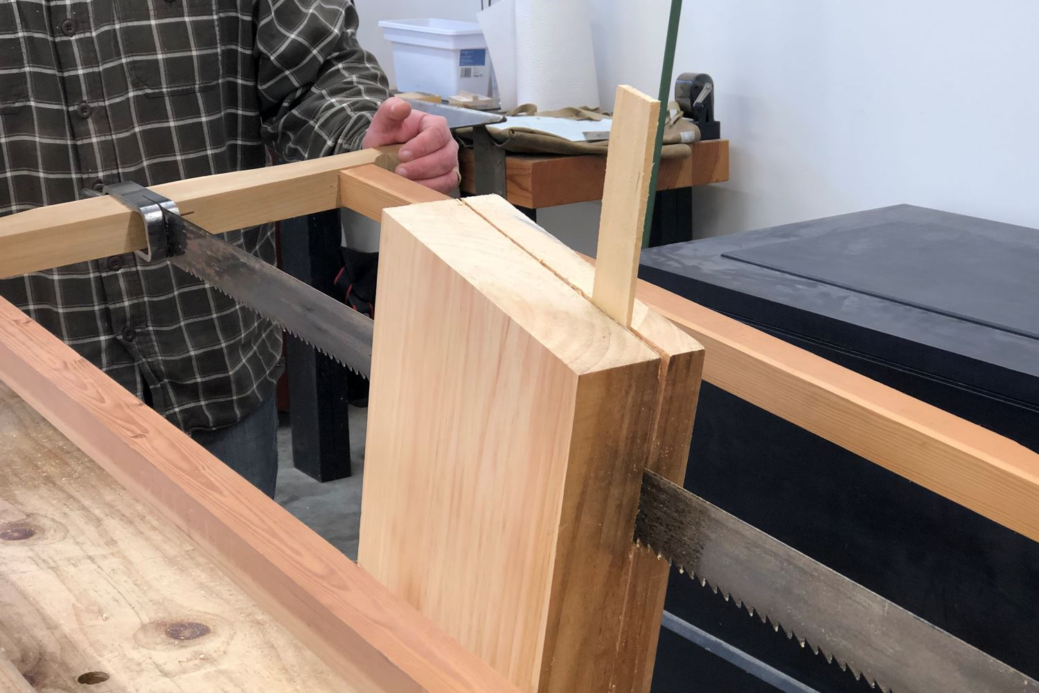 Resawing by Hand