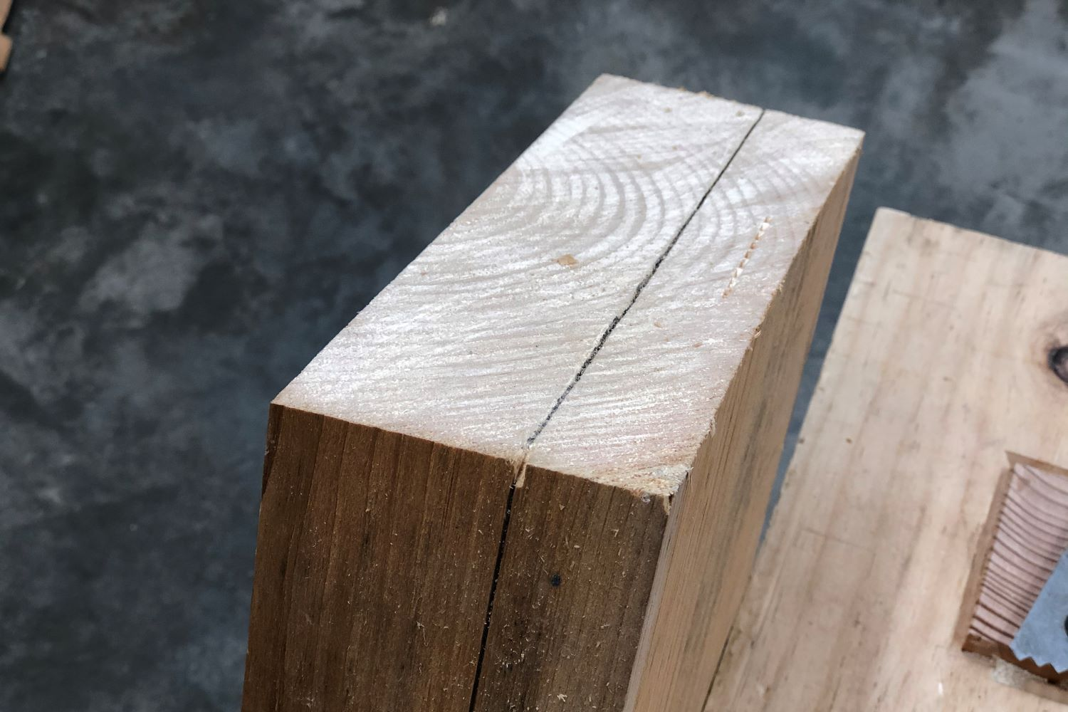 Saw without sawing exercise results