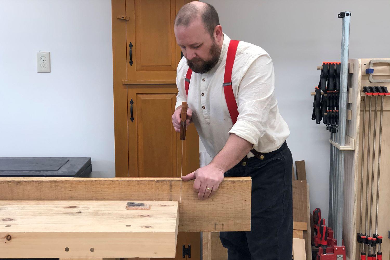Hand Sawing Mechanics