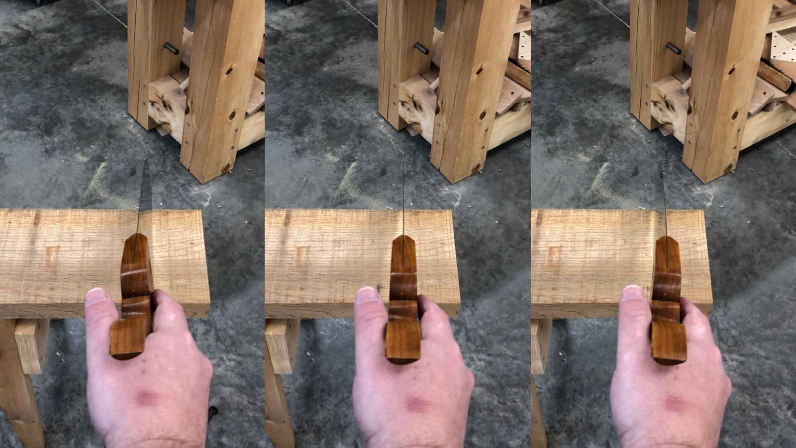 Hand Sawing Mechanics
