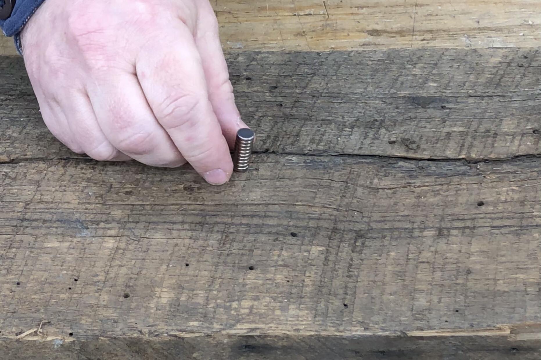 Rare Earth Magnet Metal Detector