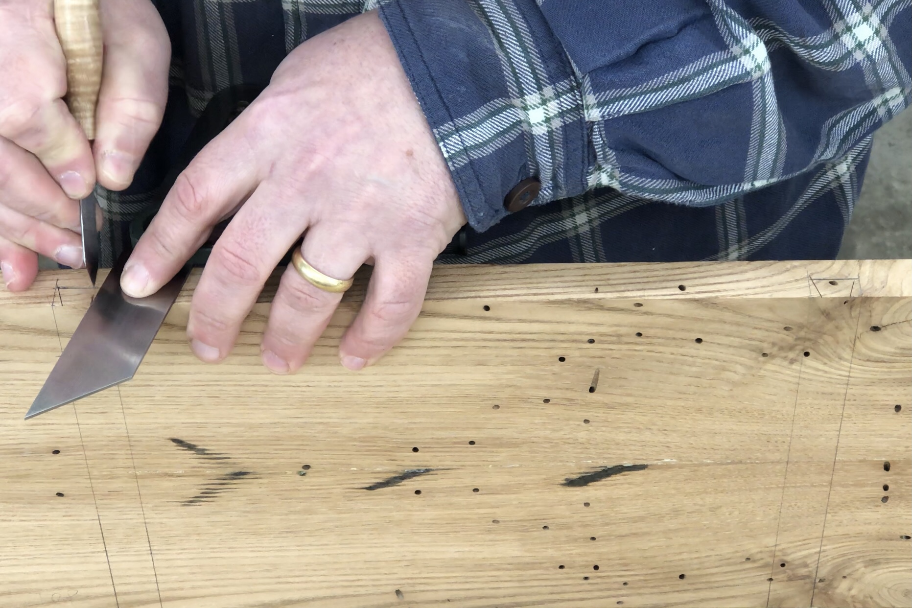 Making a Tapered Sliding Dovetail