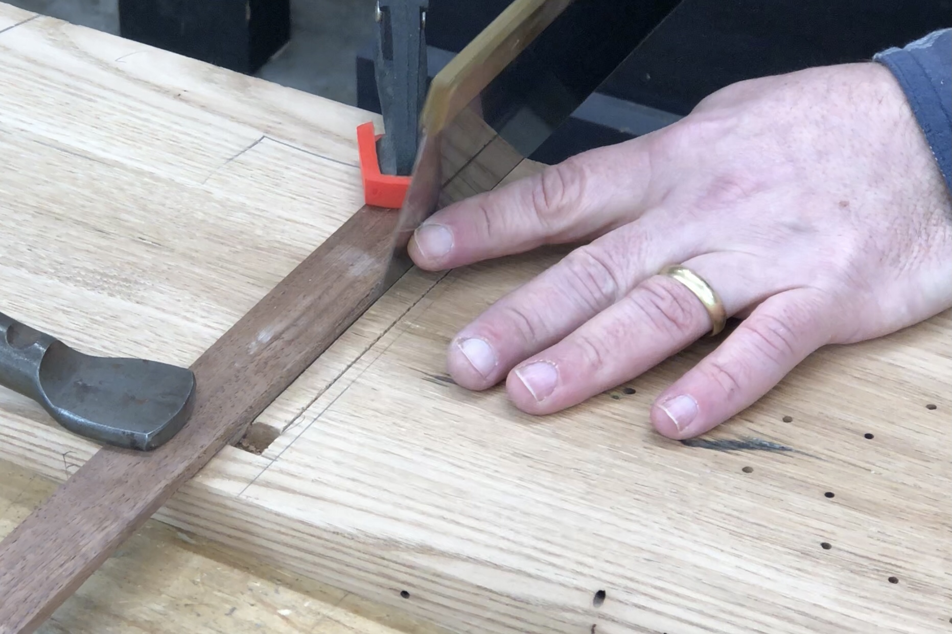 Cutting a Tapered Stopped Sliding Dovetail