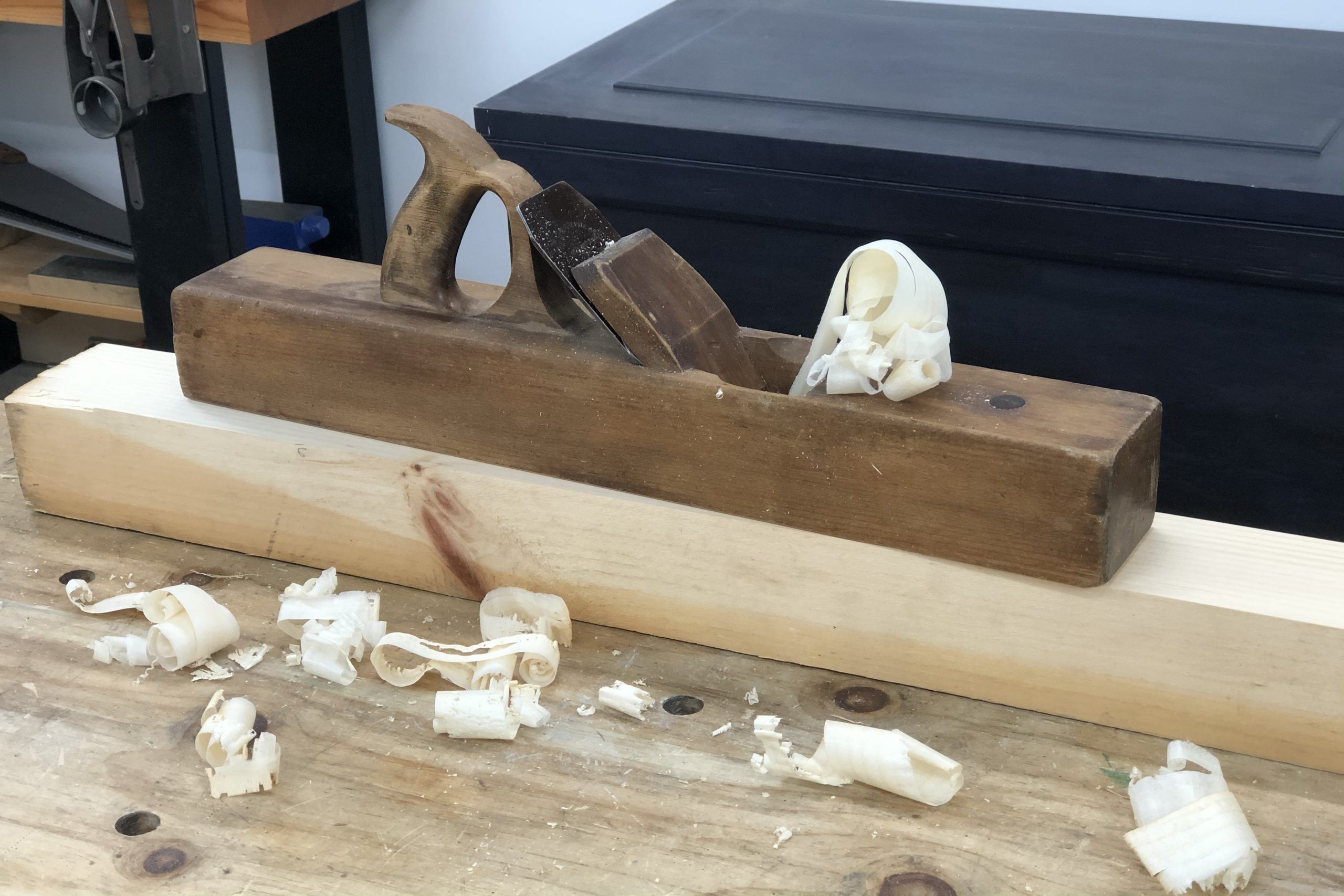 Restored Wooden Bodied Jointer Plane
