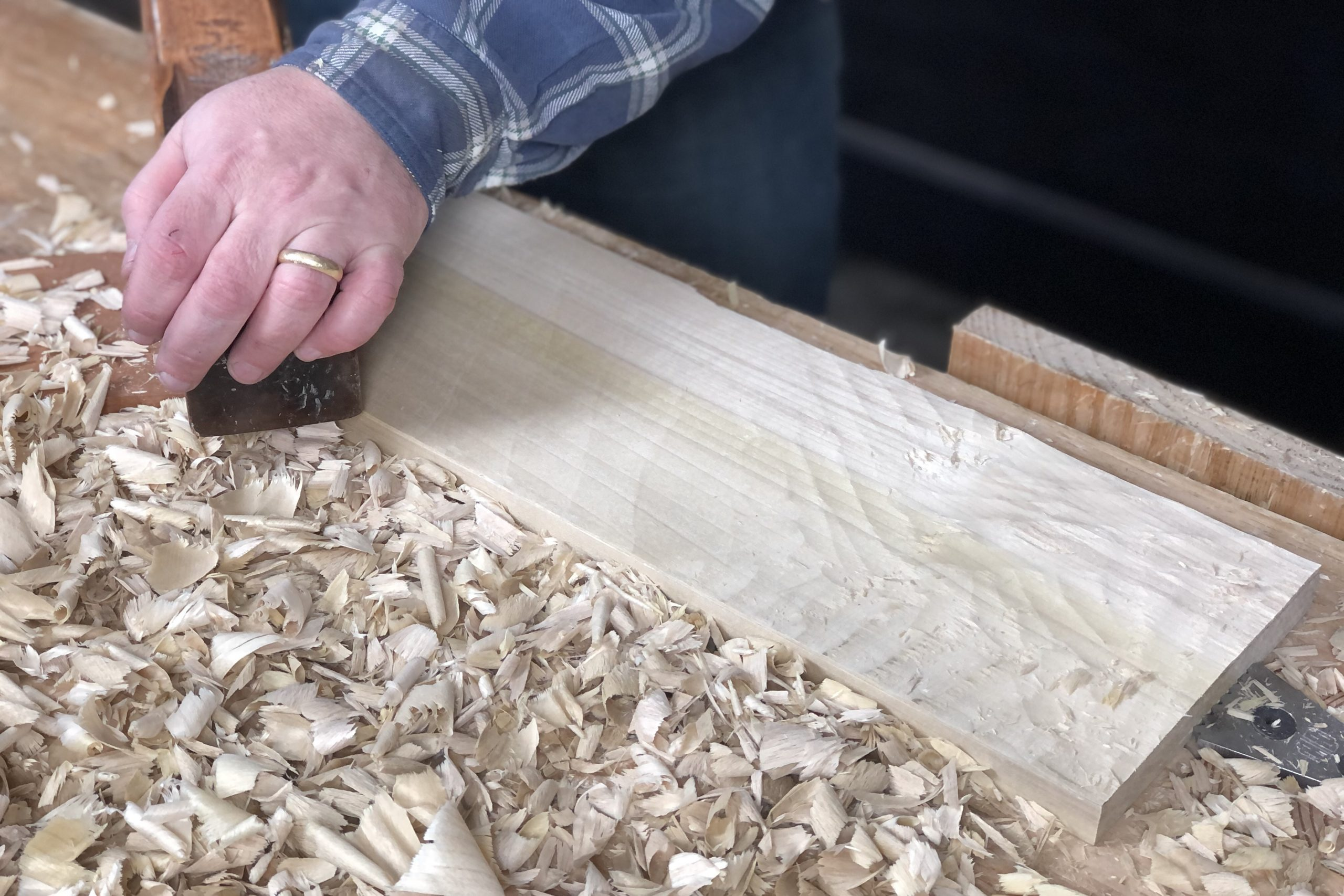 Using the Jack Plane After the Scrub Plane