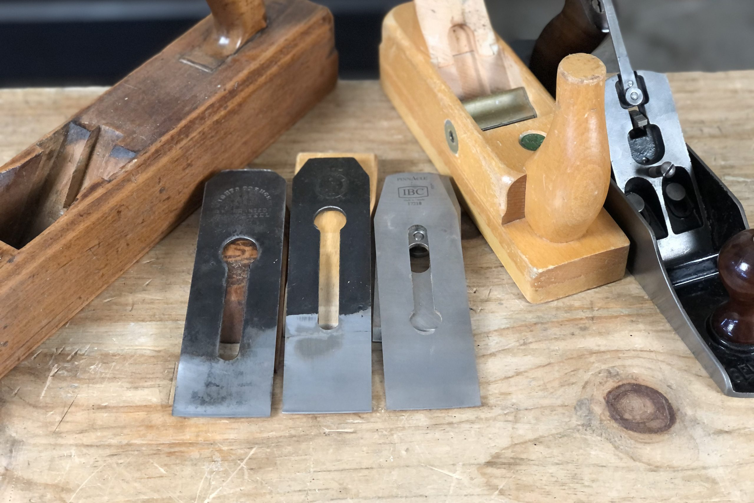 Fore Plane Camber