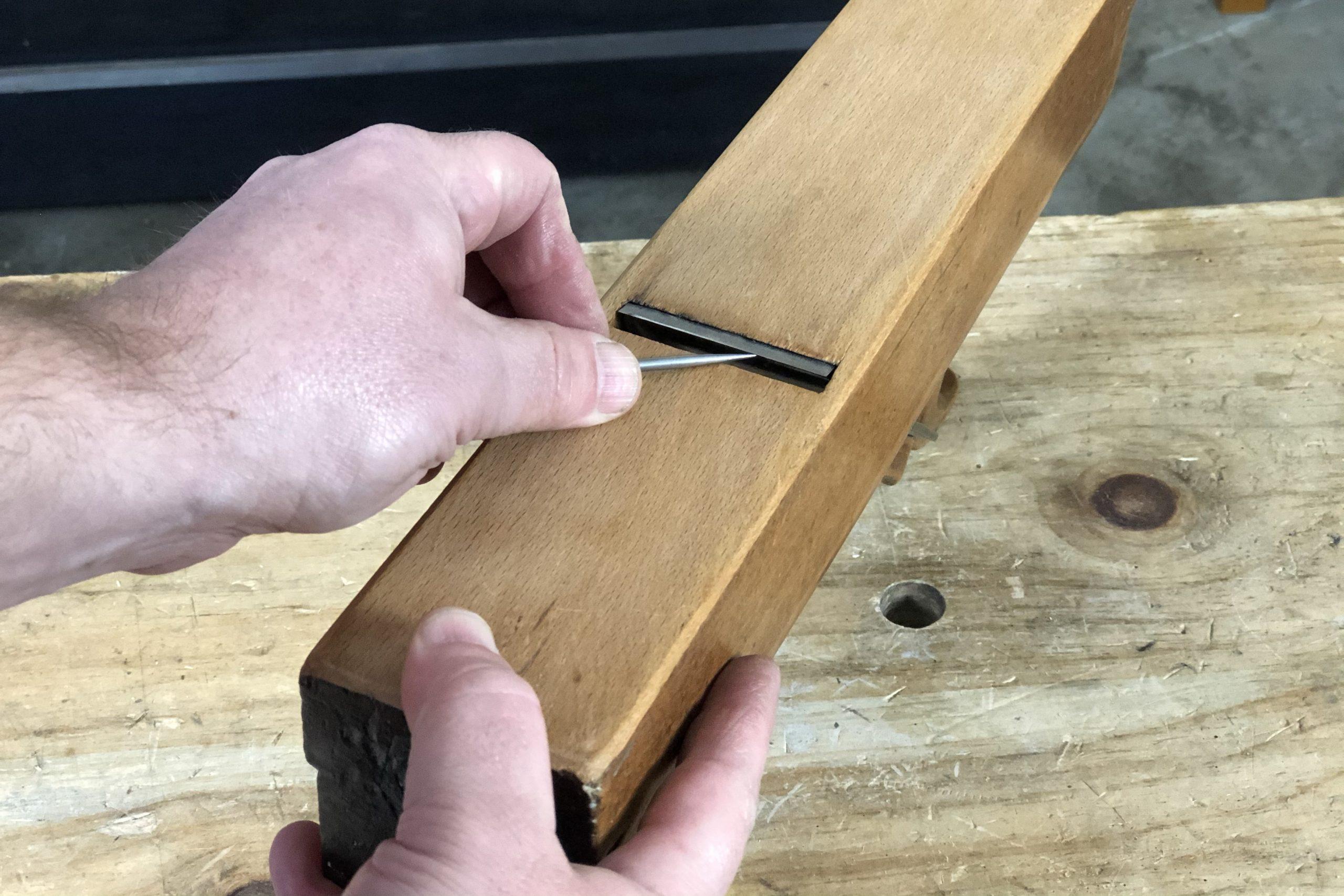 Marking a Plane Blade Camber