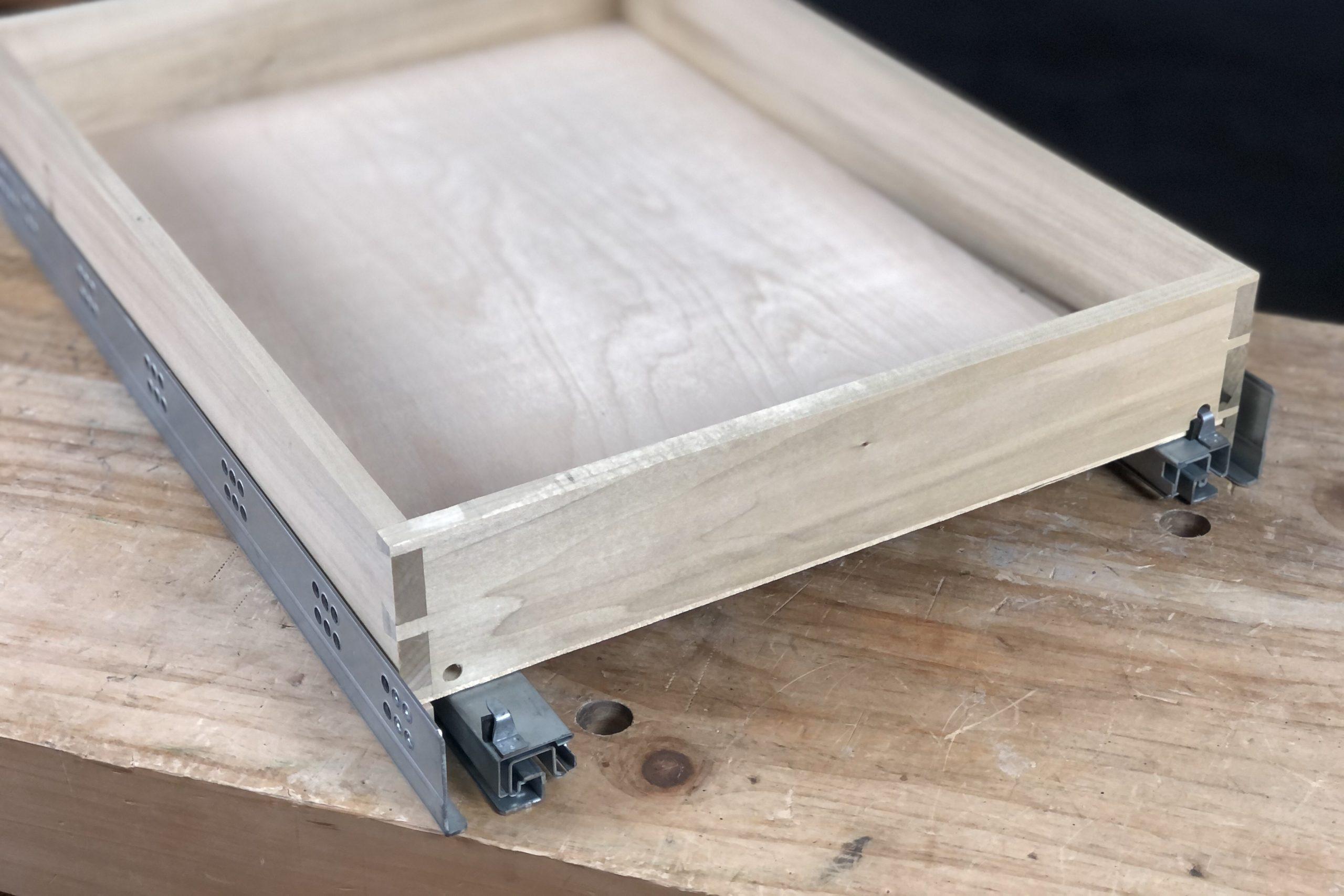 Installing Concealed Soft Close Undermount Drawer Slides