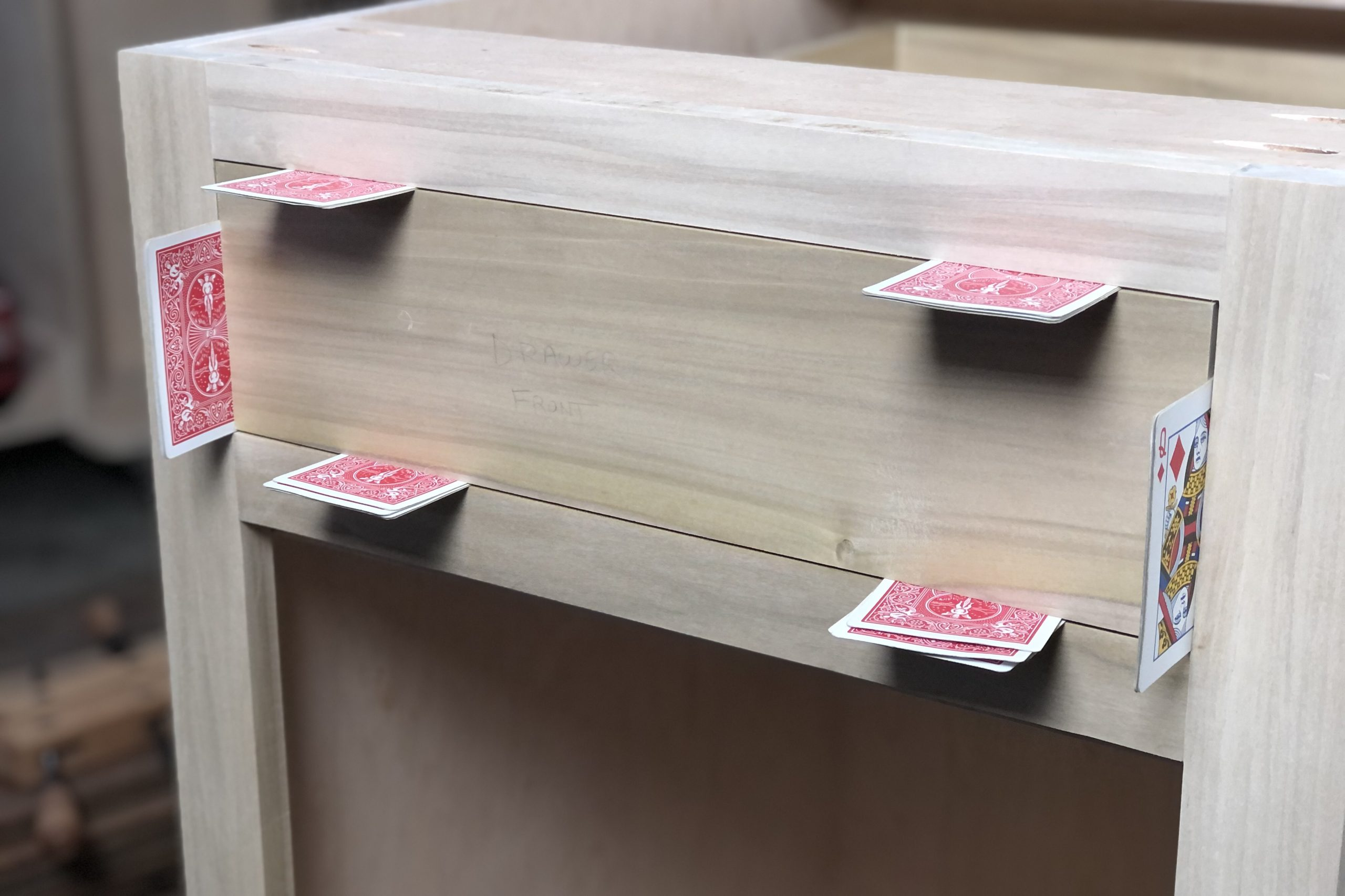 Fitting a Drawer Front